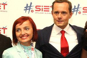 Katarína Macháčková bude zastávať post poslankyne parlamentu za stranu Sieť.