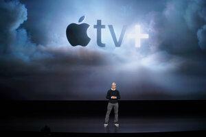Tim Cook predstavil službu Apple TV+, ktorá zožala najväčší úspech. zrejme aj preto, že ju prišlo podporiť niekoľko hollywoodskych hviezd.