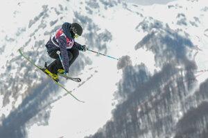 Akrobatické lyžovanie. (ilustračný obrázok)