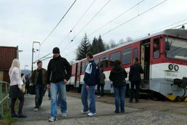 Vlaková stanica v Lysej pod Mykytou-