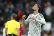 Virgil Van Dijk po zápase Ligy majstrov proti Bayernu Mníchov.