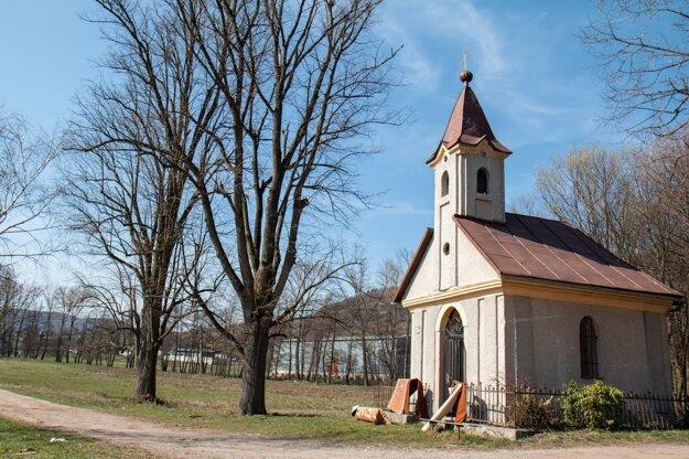 Kaplnka Panny Márie Lurdskej v Horných Hámroch.