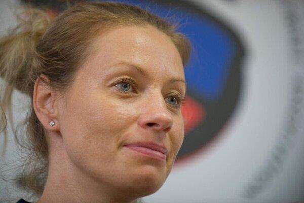 Basketbalistka Zuzana Žirková.