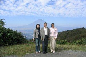 Pod bájnou horou Fuji.