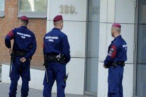 Maďarská polícia