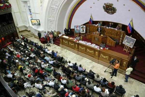 Venezuelský parlament.