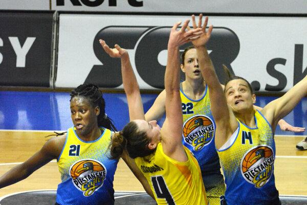 Košické basketbalistky podľahli v semifinále Piešťanom 1:3 na zápasy.