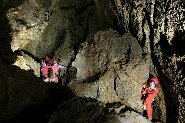 Krásnohorská jaskyňa.
