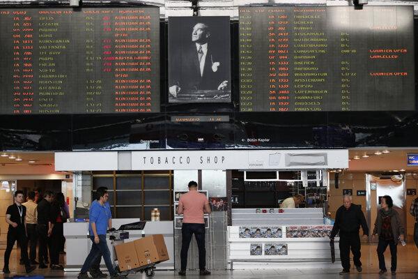 Atatürkovo letisko.