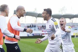 Martin Válovčan sa v zime vrátil na ViOn. V sobotu strelil svoj prvý gól v sezóne.