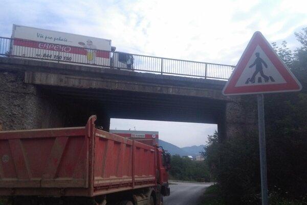 Jeden z mostov pri obci Strečno, ktorý onedlho prejde rekonštrukciou.