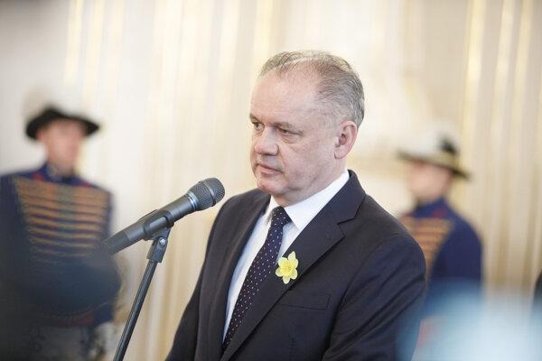 Prezident SR Andrej Kiska.