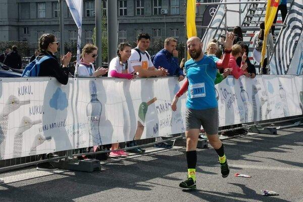 V cieli bratislavského maratónu.