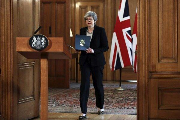 Britská konzervatívna premiérka Theresa Mayová.
