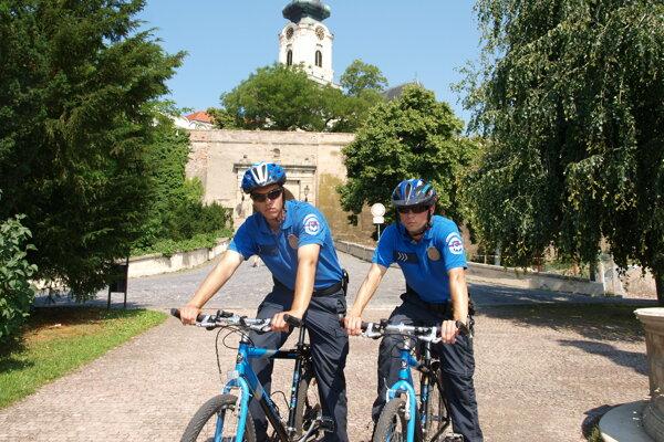 Cyklohliadka mestskej polície.
