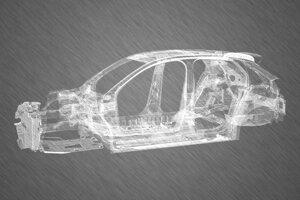 Skelet nového Opelu Corsa
