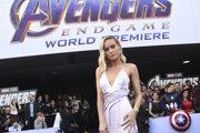 Brie Larson na premiére filmu Avengers: Endgame