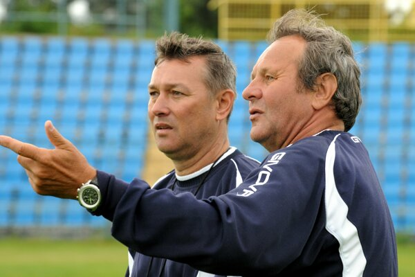 Ján Kozák (vpravo) a Jaroslav Galko.