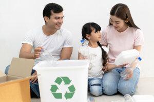 Pomôcť zachrániť planétu môže každá domácnosť. Napríklad aj separovaním odpadu.