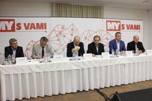 Diskusia MY S VAMI - Akčný plán transformácie hornej Nitry.