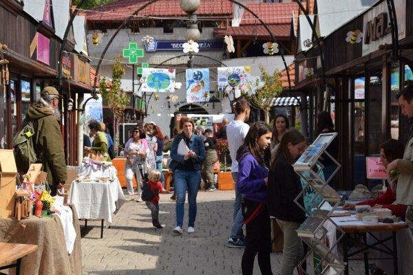 pouličný enviromentálny festival poZEMšťan.