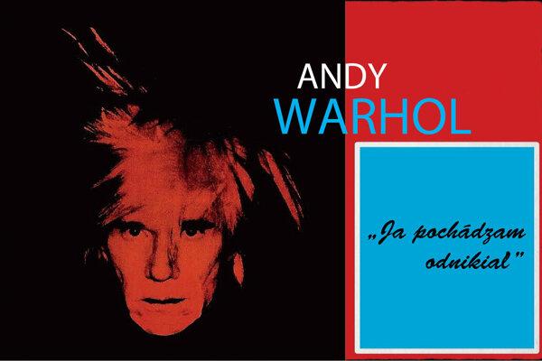 """Výstava Andy Warhol: """"Ja pochádzam odnikiaľ"""" sa začína o 16.00 hod."""