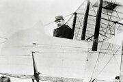 Štefánik bol dobrý letec a na lietadle Caproni letel prvý raz.