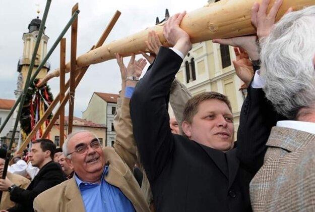 Robert Fico v edícii 2008.