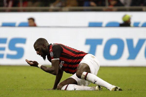Tiémoué Bakayoko z AC Miláno.