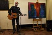 Hudobník Pavol Hammel sa venuje aj výtvarnému umeniu.