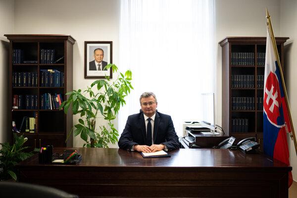 Predseda Ústavného súdu Ivan Fiačan.