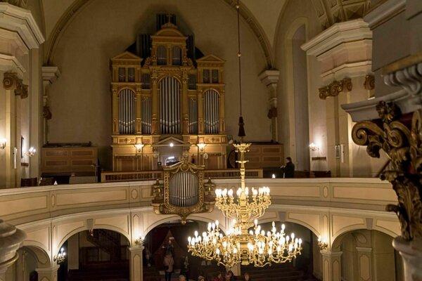 Zaujímavý program je pripravený aj v evanjelickom kostole na Lazovnej ulici.