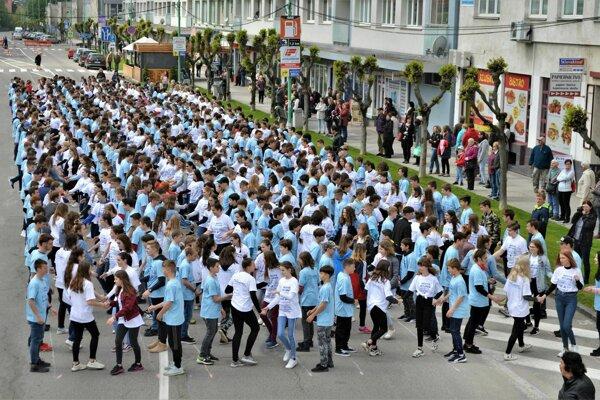 V Myjave tancovalo 712 tanečníkov.