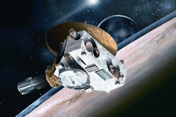 Radosť v riadiacom centre po tom, ako New Horizons zavolala domov.