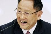 Prezident koncernu Toyota Motor Akio Toyoda, ktorý je tiež šéfom zväzu japonských výrobcov áut Japanese Automobile Manufacturers Association.