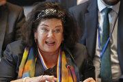 Britská veľvyslankyňa pri OSN Karen Pierceová.