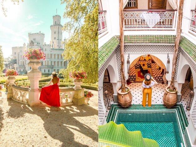 Český zámok a Maroko