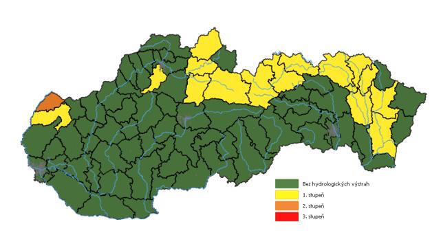 Hydrologické výstrahy