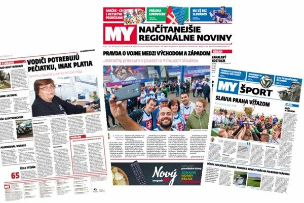 MY noviny prichádzajú so zmenou dizajnu.