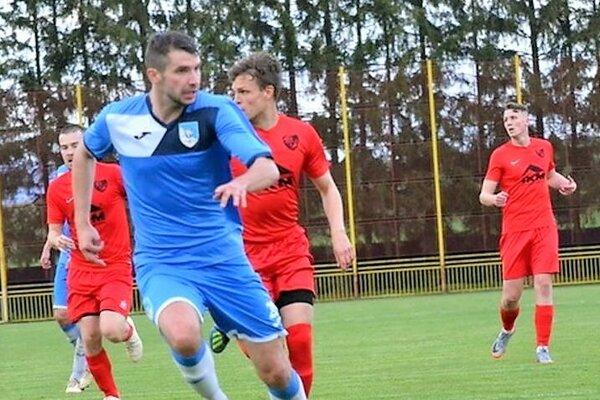 Tibor Ďungel patril medzi najlepších hráčov na ihrisku.
