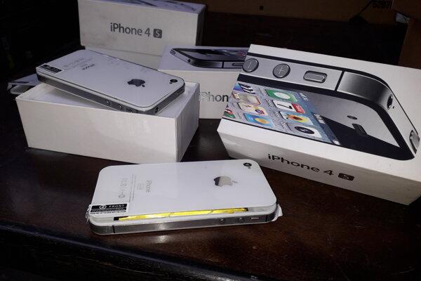 Zhabané falzifikáty mobilov.