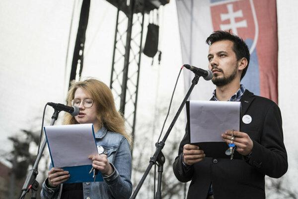 Karolína Farská a Juraj Šeliga.