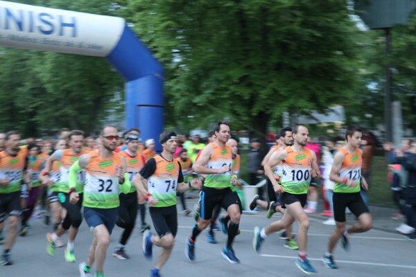 Na štarte bolo 307 bežcov.