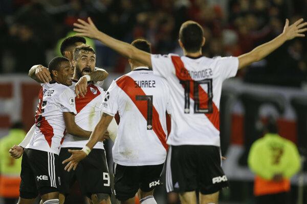 Futbalisti River Plate.