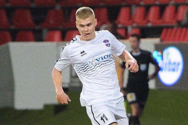 Jakub Švec ešte ako dorastenec strelil päť gólov vo Fortuna lige.