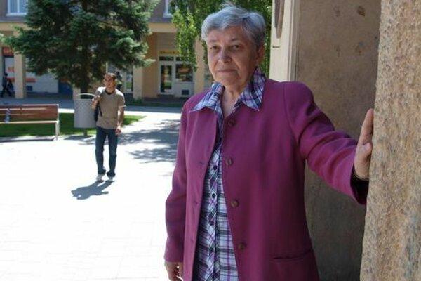 Mária Zaťková podľahla chorobe vo veku nedožitých 77 rokov. Archívne foto.