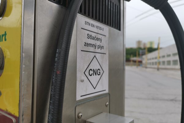 Čerpacia stanica CNG
