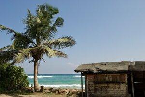 Neďaleko pláže Kabalana.
