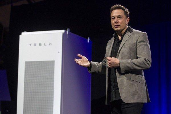Šéf firmy Tesla Elon Musk.