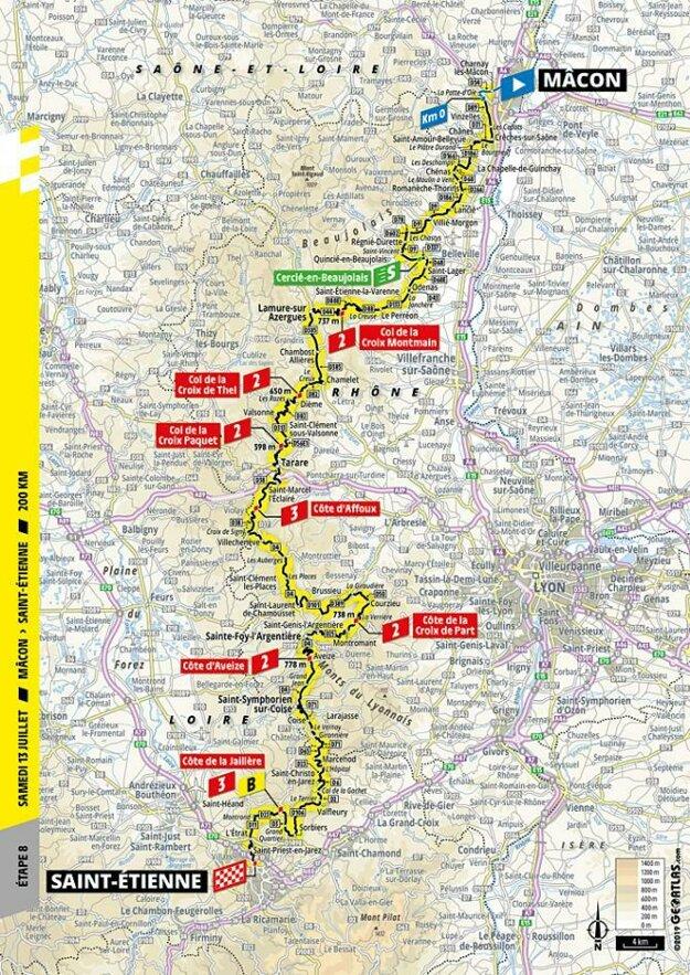 8. etapa Tour de France 2019.
